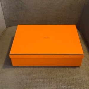 Hermès collectible box for iPad cover or etc.